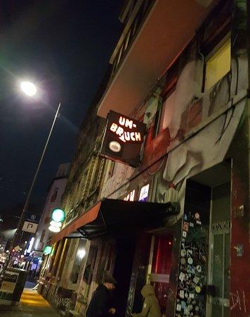 Bar Umbruch along Zülpicher Straße
