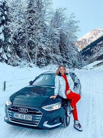 Austriackie Alpy, Austria: We rented a car and went on a trip to winter Austria :)