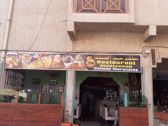 Essaouira, Maroko: Restaurant abdessamad