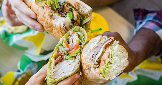 Freshly made Subway sandwiches & wraps. Gluten free options available.