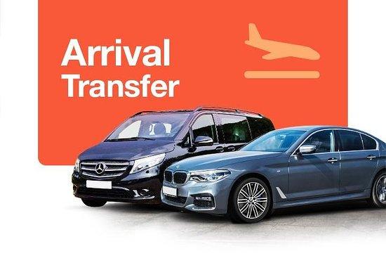 Transfert privé à l'arrivée de l'aéroport Ben Gourion de Tel Aviv à...