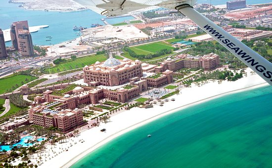 30 minute scenic seaplane flight of Abu Dhabi