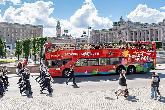 Stockholm Red Buses Hop-on-Hop-off...