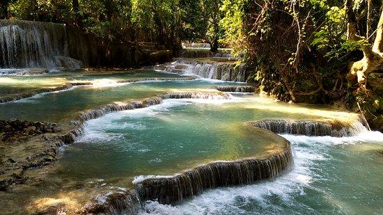 Luang Prabang, Laos: Beautiful waterfall