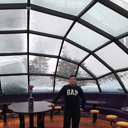 Igloo Bar @ West Village, Kakslauttanen Arctic Resort, Saariselkä, Finland.
