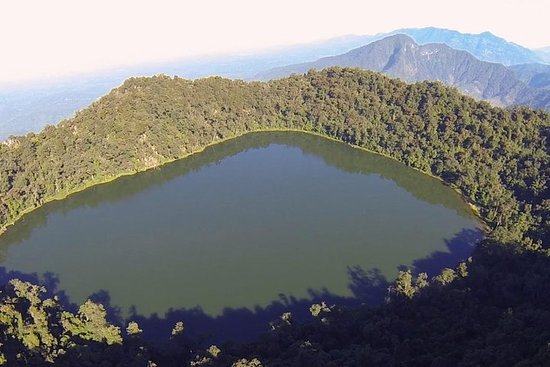 Trek vers le volcan Chicabal et Lagoon