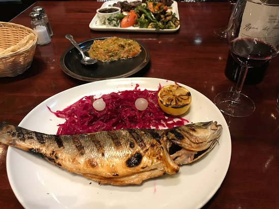 Lake Hiawatha, NJ: Whole Branzino