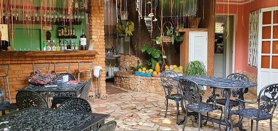 angolo bar nel patio
