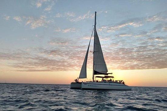 Sortie en catamaran l'après-midi