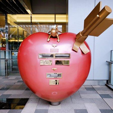 KITTE博多の郵便ポスト📪
