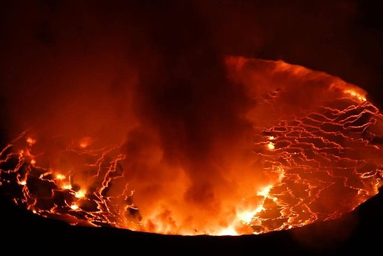 Randonnée du volcan Nyiragongo de 3...