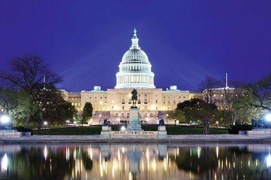 Monumentos de DC por la noche