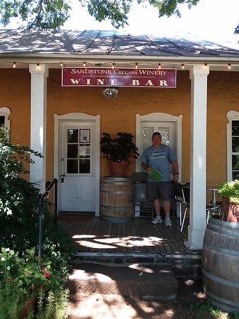 Welcome to Sandstone Cellars in Mason, TX
