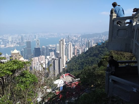 View at the peak