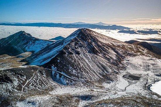Snowy Toluca (randonnée et saison d'hiver)