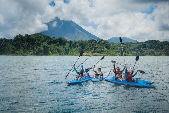 Kayaking Tour on Lake Arenal