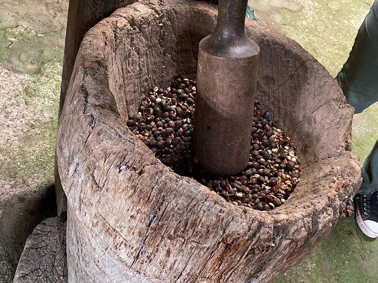 An old grinder.
