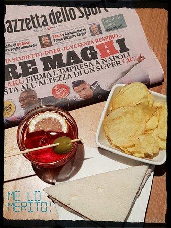 Spritz + Tramezzino + Patatine + Giornale rosa = 💪💪💪