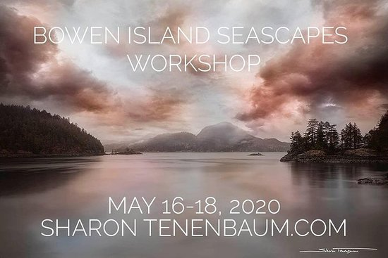 Bowen Island Seascape Photography Workshop