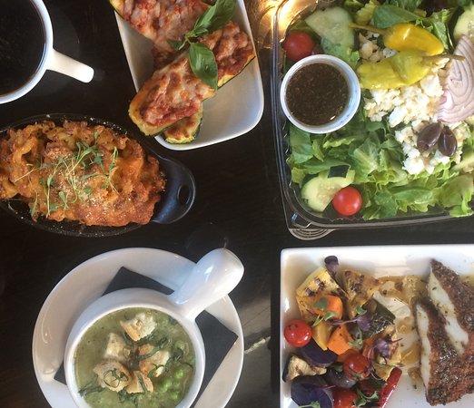 Southern comfort, Italian, Vegetarian, Healthy-minded, freshly prepared food