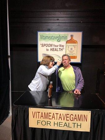 "Doing Vitameatavegamin ~ ""And so tasty too"""