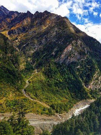 Captured At baling Trekking In Panchachuli base Camp Trek With DanuAdventure