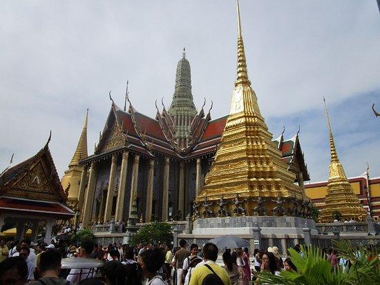 Wat Phra Kaew on New Year's Day 2020