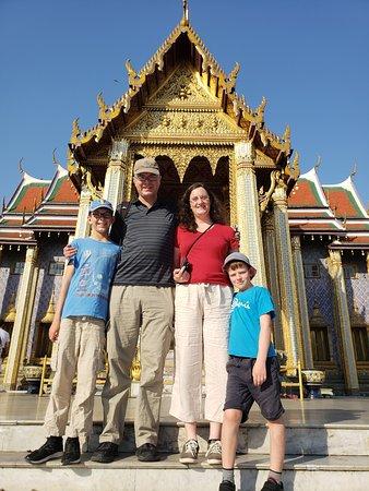 Wat Phra Kaew - The Emerald Buddha Temple, Bangkok, Thailand