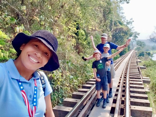 Here we are! Death Railway. Thanks Stephen and families from New Zealand