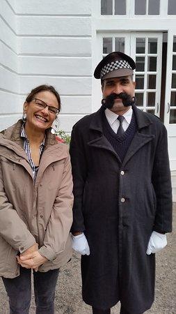 Doorman - such a pleasant gentleman.