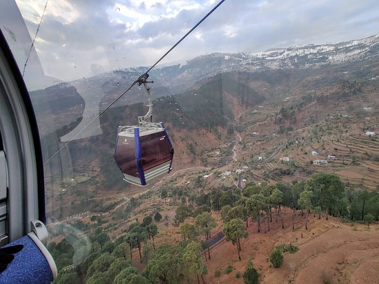 India's highest cable car gondola ride