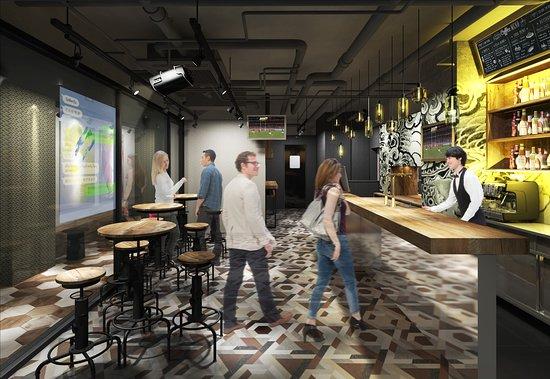 ホステル1Fカフェバー Q Cafe&Bar