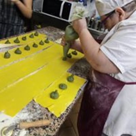 La preparazione del tortello maremmano