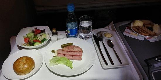 Ethiopian Airlines: dinner