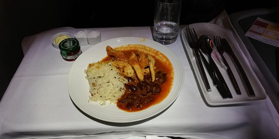 Ethiopian Airlines: main course