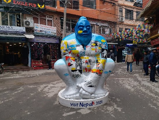 Yati Mythical Mascots for Visit Nepal Year 2020 www.mountainkingtreks.com ( info@mountainkingtreks.com ) What'sApps/ Viber: +977-9841566449