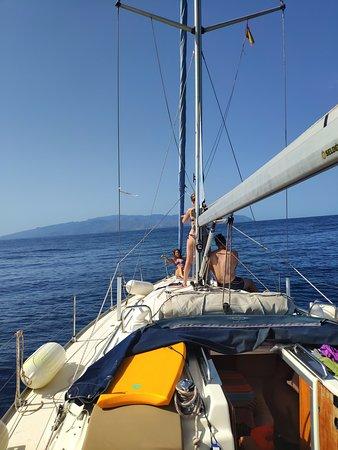 3 days trip to La Gomera by Sailboat: По пути на La Gomera