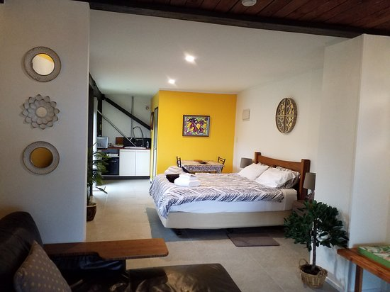 Carters Beach Holiday Studios Wonderfull accomodation with comfy beds and a great view of the sea in front. Not far from the town of Westport and only 10 minutes from the seal colony in Tauronga bay