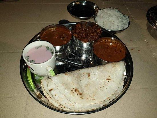 Dinner near beach