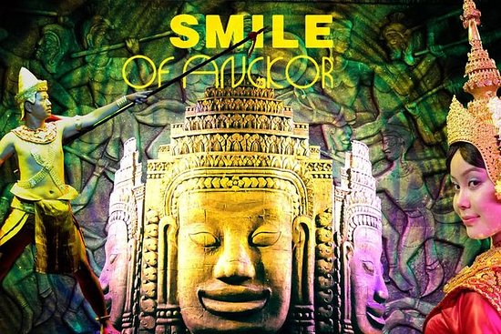 Spectacle Smile of Angkor avec...