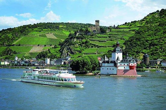 萊茵河 20 座城堡乘船遊覽票劵