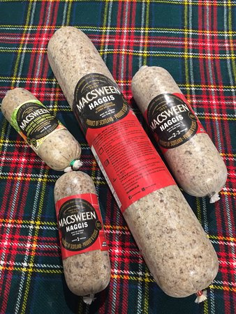 Macsween Traditional Haggis as well as Highland Veggie Crumble now available.  Be sure to check our freezer for other delicious food items.