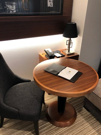 Interiors and details of Hyatt Place Tokyo Bay hotel room
