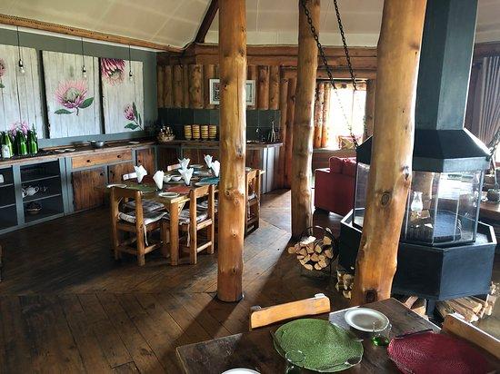 Bonjaneni, Sør-Afrika: Restaurant
