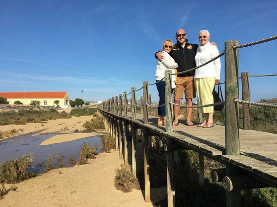 Long walk to the beach