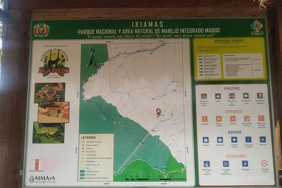 Aventura Trekking y Camping. Parque Natn Alto Madidi. Esp Guide...