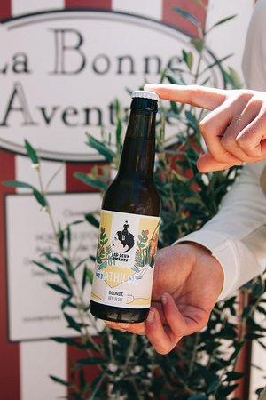 Bière artisanale biologique