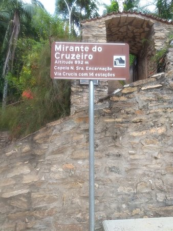 Entrada do Mirante do Cruzeiro