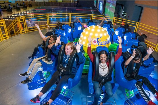Reverse Time Indoor Thrill Ride!