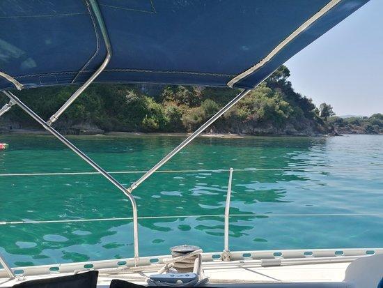 Balos yachts Corfu private daily cruises